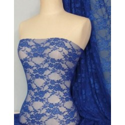 Stretch Spitze - Royal Blue