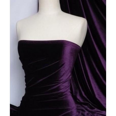 Stretch-Samt Purple (England)