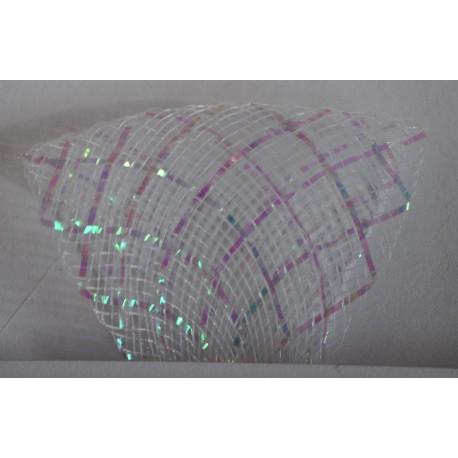 Versteifungsband mit Lurex (Crinoline) unterschiedliche Breiten - A001