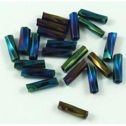 Glasstiftperlen Twist multifarbe