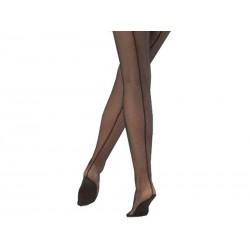 Professional Netzstrumpfhosen/mit Naht und Fußbett