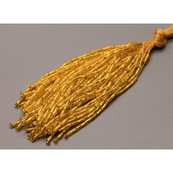 Twisted Bead Droppers Gold