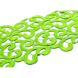 BRAMBLE RIBBON - FLUO GREEN