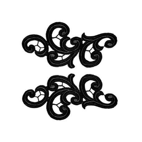 EMMA MOTIF - BLACK