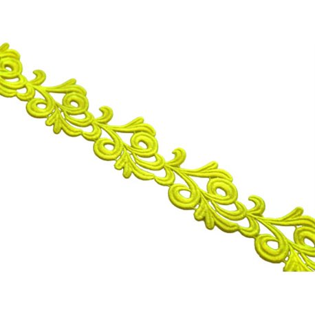 VICTORIA LACE RIBBON - TROPIC LIME