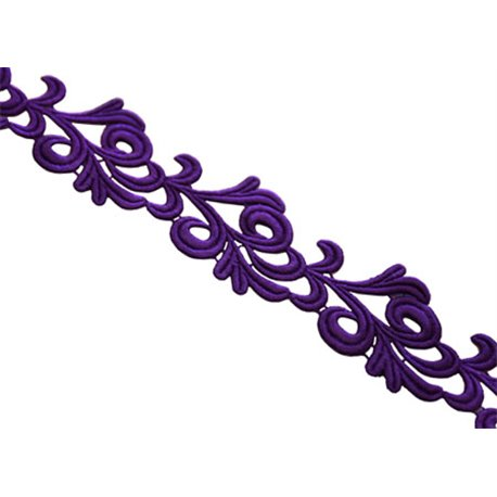 VICTORIA LACE RIBBON - PURPLE