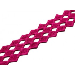 DIAMOND RIBBON - MAGENTA