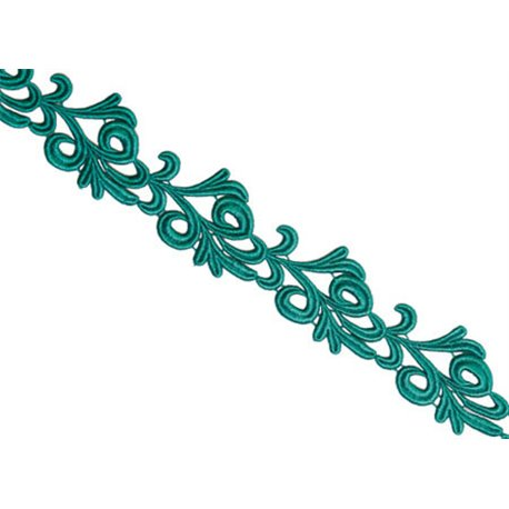 VICTORIA LACE RIBBON - JADE
