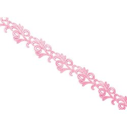 VICTORIA LACE RIBBON - ROSE PINK