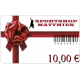 Geschenkgutschein 10€
