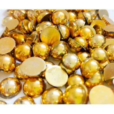 Aufklebeperlen Gold
