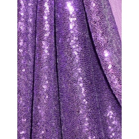 Pailttenstoff Midnight purple (England)