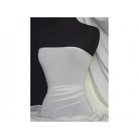 Jersey Lycra Ivory White (England)