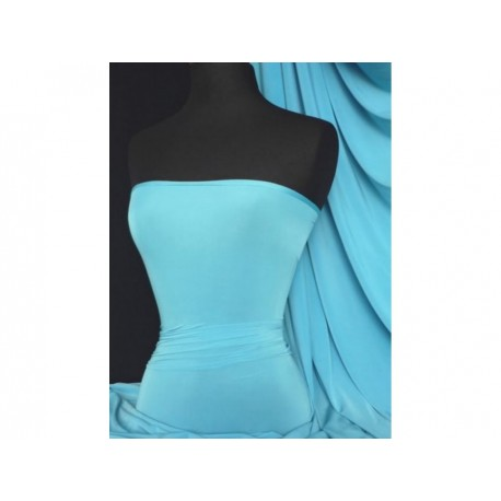Jersey Lycra Turquoise Blue (England)