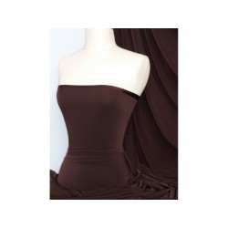 Jersey Lycra Chocolate Brown (England)