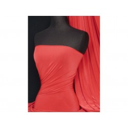 Angelskin Lycra Bright Red (England)