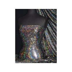 Stretch Foil Hologram DISCO BLACK (England)
