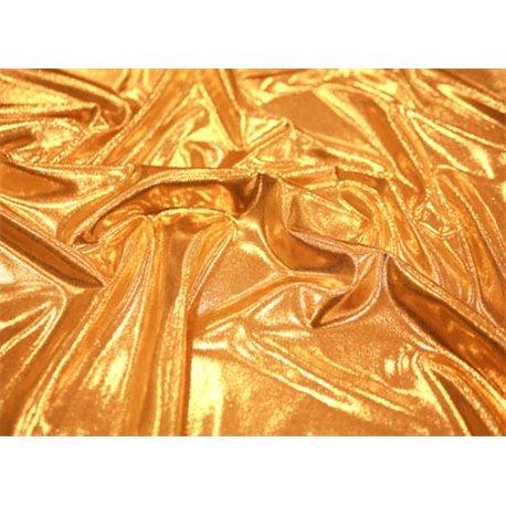 METALLIC MICRO DOT LYCRA – GOLD – Chrisanne Clover