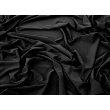 DELUXE STRETCH CREPE – BLACK  – Chrisanne Clover