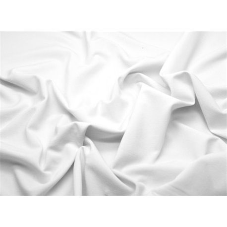 DELUXE STRETCH CREPE – WHITE – Chrisanne Clover