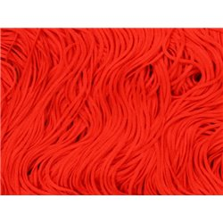 FRINGE 30CM – FLUORESCENT RED – Chrisanne Clover
