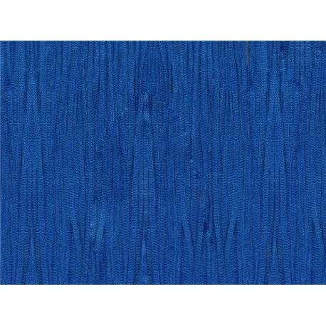 TACTEL STRETCH FRINGE 30CM - ELECTRIC BLUE