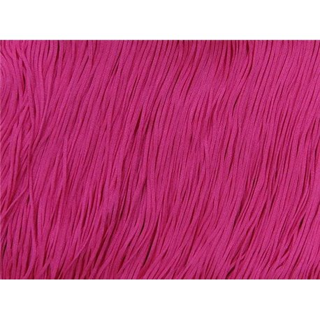 TACTEL STRETCH FRINGE 30CM - ELECTRIC PINK