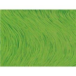 TACTEL STRETCH FRINGE 30CM - FLUO GREEN