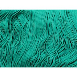 TACTEL STRETCH FRINGE 30CM - JADE