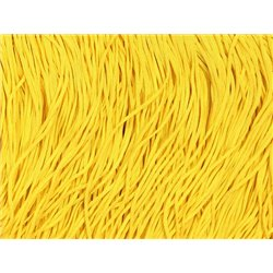TACTEL STRETCH FRINGE 30CM - SASSY YELLOW