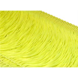 TACTEL STRETCH FRINGE 30CM - TROPIC LIME