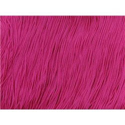 TACTEL STRETCH FRINGE 15CM - ELECTRIC PINK