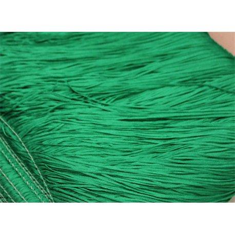 TACTEL STRETCH FRINGE 15CM - FLUO GREEN
