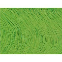 TACTEL STRETCH FRINGE 15CM - FLUO GREEN