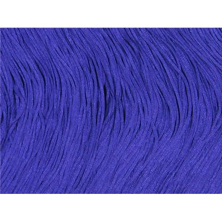 TACTEL STRETCH FRINGE 15CM - PURPLE RAIN
