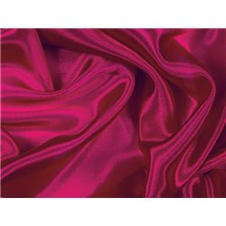 SATIN CHIFFON CHERRY RED - CHRISANNE CLOVER
