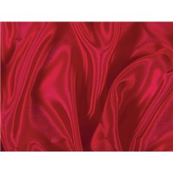 SATIN CHIFFON RED - CHRISANNE CLOVER