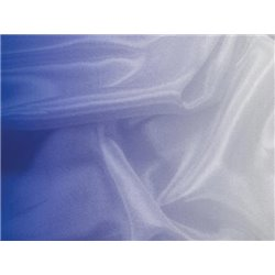 SHADING ON SATIN CHIFFON - BLUEBERRY-WHITE – Chrisanne Clover