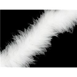 MARABOU BOA - WHITE – Chrisanne Clover