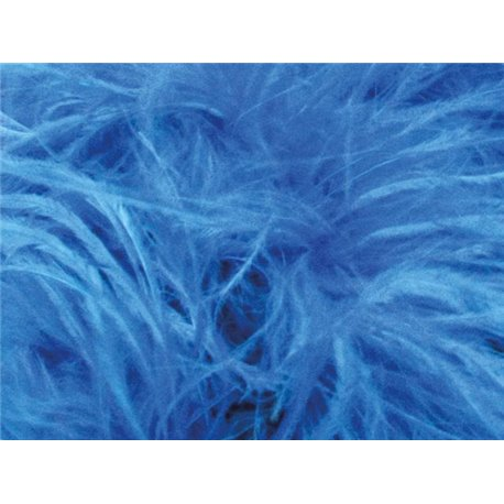 LUXURY OSTRICH BOA - TURQUOISE – Chrisanne Clover