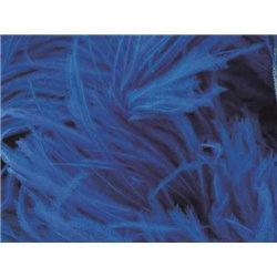 LUXURY OSTRICH BOA - ELECTRIC BLUE – Chrisanne Clover