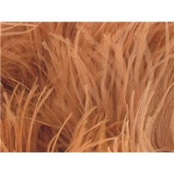 LUXURY OSTRICH BOA - CAPPUCCINO – Chrisanne Clover