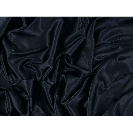 STRETCH SATIN – BLACK – Chrisanne Clover