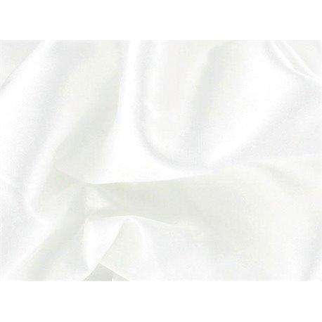 STRETCH SATIN – WHITE – Chrisanne Clover