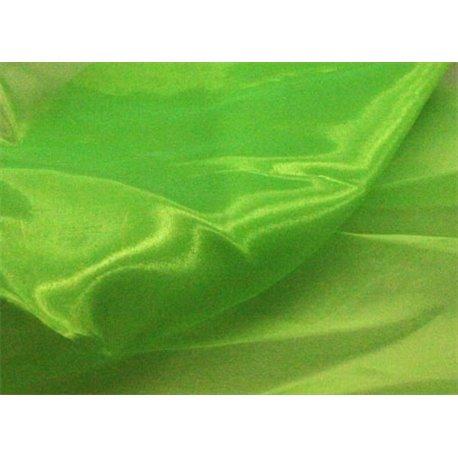 CRYSTAL ORGANZA - FLUORESCENT GREEN – Chrisanne Clover