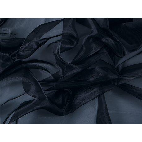 CRYSTAL ORGANZA - BLACK – Chrisanne Clover