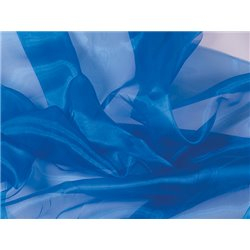 CRYSTAL ORGANZA - ELECTRIC BLUE – Chrisanne Clover