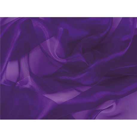CRYSTAL ORGANZA - PURPLE – Chrisanne Clover