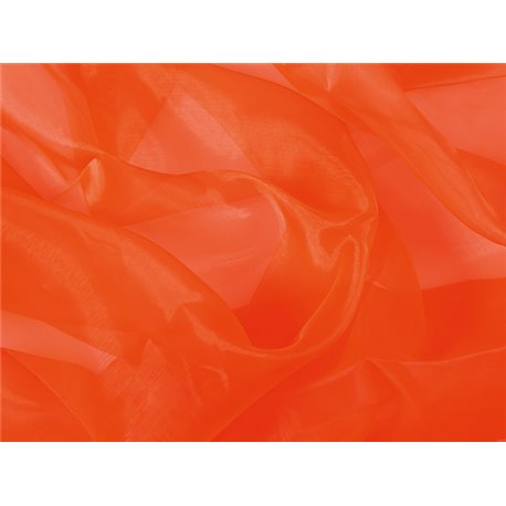 CRYSTAL ORGANZA - ORANGE – Chrisanne Clover