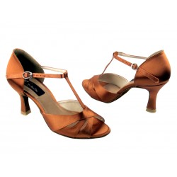 CD 6200 - 23,5 cm,  Dark Tan Satin